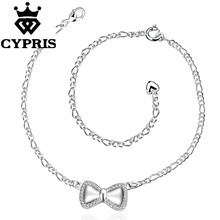 A021  51% OFF New Delicate Handmade Cheap Anklet Bulk Sale crystal promotion sexy lady cz stone wholesale bulk luxury gift