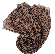100% pure silk neck red scarf brand twill pashmina jersey hijab printed brown leopard design scarfs winter large square scarves(China)