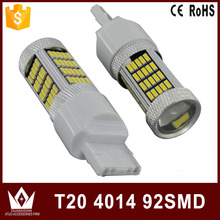 Nightlord 2pcs 7440 t20 7443 3156 3157 t15 T25 W16W W21W 92 led 4014 smd Car Bulb Brake Lights auto Reverse Daytime Lamp White