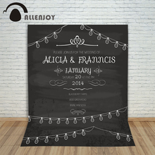 Wedding background Vintage Party Invitation Love Wedding invitation Design Retro Blackboard  Layout Celebration Wreath Chalk