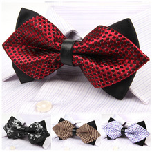 New Fashion Necktie Lovely Men Bow Ties Wedding Party Elegant Pattern Butterfly Silk Yarn Gravatas Tie for Men Gifts