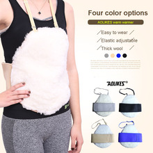 AOLIKES Health Care Warm Belt Waist Protector Wool Warm Waist Brace Elastic Breathable Waist Belt Support Abdomen Keep warm