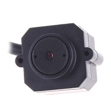 "Super Mini 380 TVL Camera Video Audio CMOS Monitor Home Security Camera Infrared 5.5mm Lens 1/4"" Color Monitor Pal System"