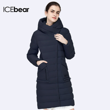 ICEbear 2017 TOP Quality Parka New Winter Fashion Womens Cotton Coats For Female Suit Casual Jacket Warm Parker 16G6233D(China)