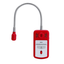 8800A Sensitive Useful Gas Analyzer Combustible Gas Detector Portable Gas Leak Location Determine Tester with Sound-light Alarm
