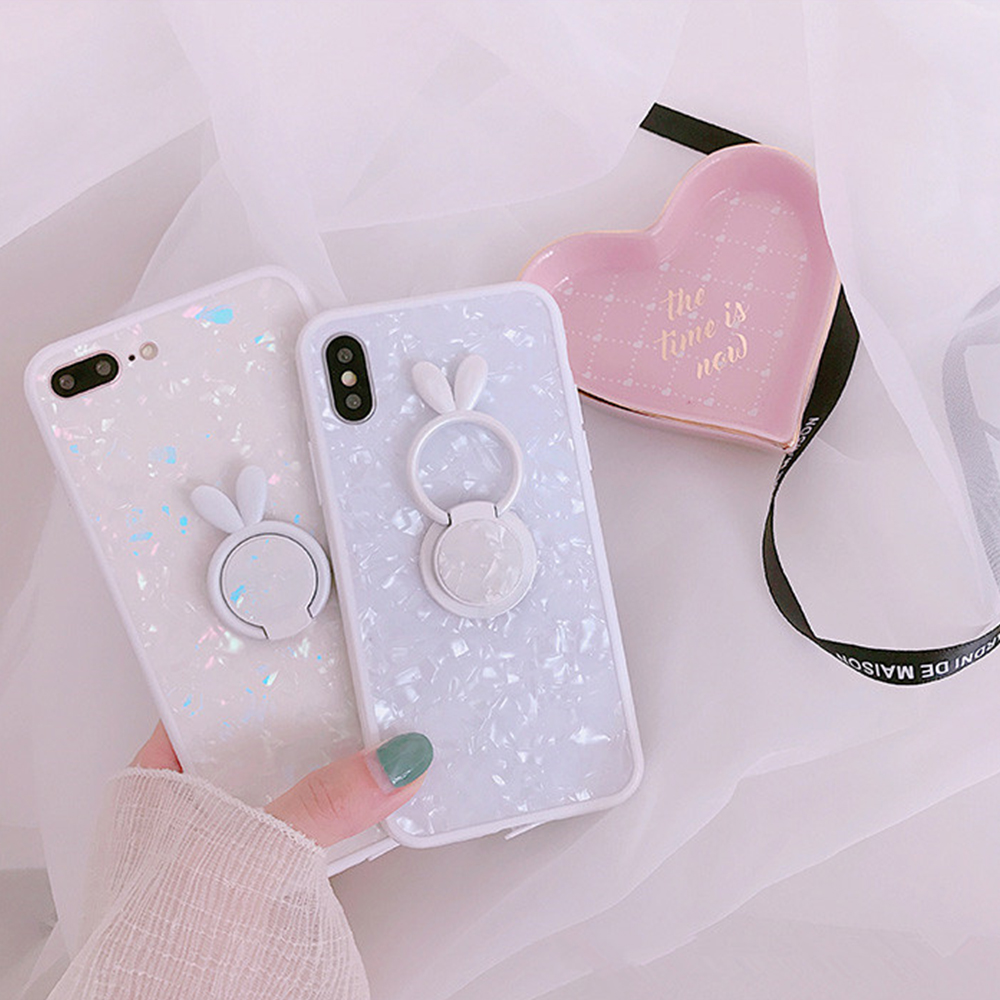 Heyytle Kickstand Phone Stand Holder Cover For Apple iPhone X 8 7 6S 6 Plus Case Shell Cute Fantasy Soft TPU Back Cover Cases 4