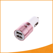 New 5V 2.4A 2 Port USB Car Charger Led Light USB Universal For iPhone 6 S 7 7 Plus iPad Samsung Galaxy S5 S6 Note 5 Mini Adapter