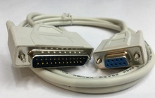 DB9 to DB25 cable RS232  DB25 25PIN Male to 9pin female  1.5M Computer connctor Printer Cable