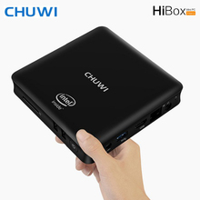 CHUWI HiBox Smart Mini PC 4G 64G Quad Core Intel x5-Z8350 64bit Android 5.1 + Window 10 Dual OS 2.4G/5G Dual Band WiFi BT 4.0
