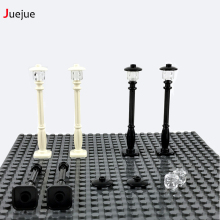 Juejue Block Parts Road Light Traffic Light DIY Block Bricks MOC Parts Building Blocks Compatible with Legoe Assemble Particles
