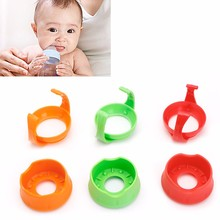 Newborn Baby Handles Holder Trainer Easy Grip + Base For NUK Wide Mouth Bottle