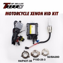 Super Bright!! HID 4300K~12000K Headlight Motorcycle HID Kit Moto Xenon Lights Ballast Car-Styling For Yamaha 1994-2009