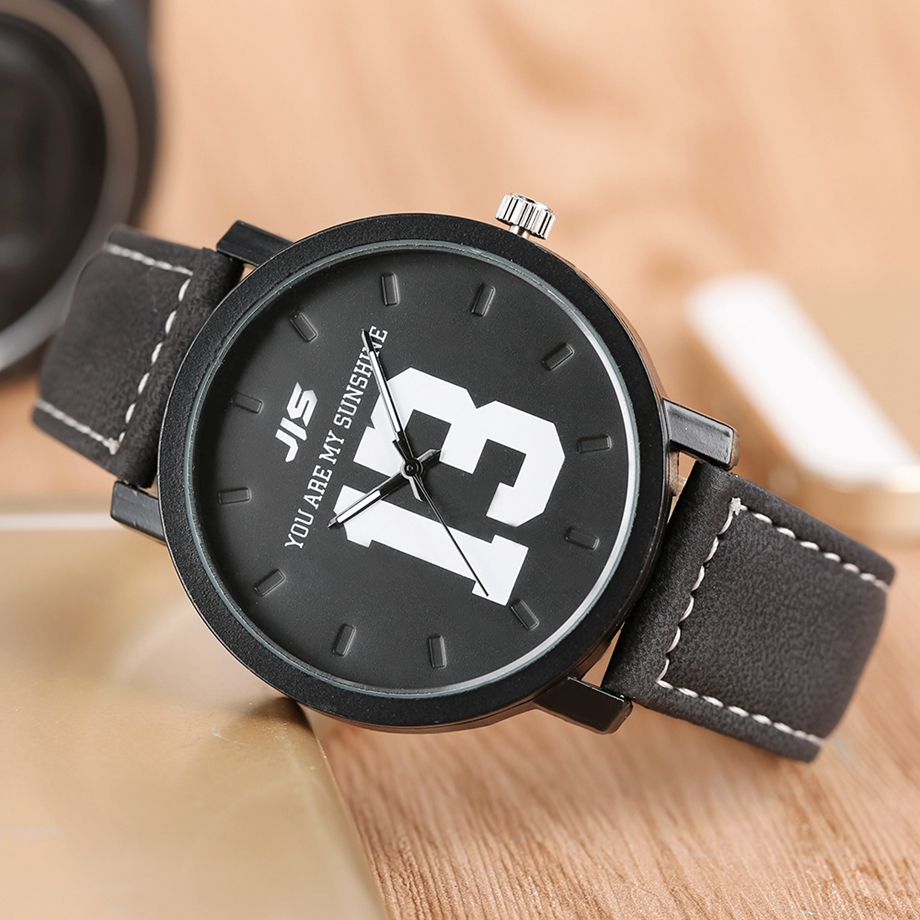 YOU ARE MY EVERYTHING Series Men Watch JIS Unique Number 1314 Quartz Wristwatch Young People Fashion Dress Clock Male Ulzzang 2018 (9)
