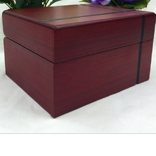 Brand Solid Wood Box Cross Grain Jewelry Watch Display Organizer Storage Case Container Decorative Wooden Beauty Gift Boxes