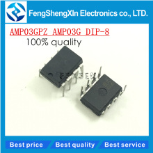 10pcs/lot NEW AMP03 AMP03GP AMP03G DIP-8 Precision, Unity-Gain Differential Amplifier IC(China)
