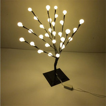 32 LEDS Warm White  outdoor led Cherry Balls Blossom tree light for christmas led christmas tree lights decoration
