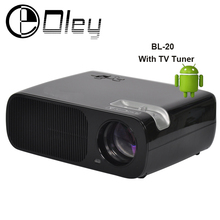 Cheaper 3000lumens Android 4.4 Smart Wifi Home Theater 1080P Video HDMI LCD Video LED fuLL HD TV Projector Proyector beamer