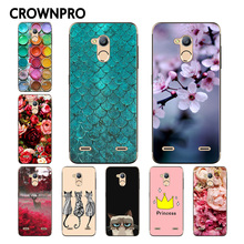 CROWNPRO ZTE Blade V7 Lite Case Cover Painting Soft Silicone TPU Protective Back Fundas - Global Green Digital Parts Store store
