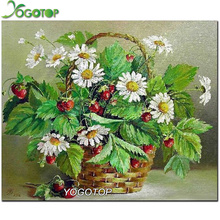 Diamond Embroidery sunflower 3d Cross Stitch Kits For Needlework Full Diamond Mosaic Picture Home Decoration NW305(China)