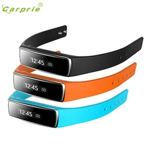 CARPRIE Women Men Waterproof Bluetooth 4.0 OLED Digital Smart Bracelet Watch Wrist Band For iPhone IOS Android AU8  Z8