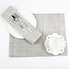 Japanese Cotton Mat Plain Stripe Cloth Western-style Food Factory Direct Can Be Customized Placemat Table Mat Napkin