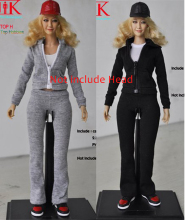 "1/6 scale doll clothes for 12"" Action figure doll,Leisure sports suit with body for Female figure clothes.not include the head"