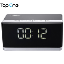 MUSKY DY - 27 Bluetooth Speaker LED Display Clock Alarm FM Radio Support AUX TF Card MP3 Player 6000mAh for Mobile Phone PC