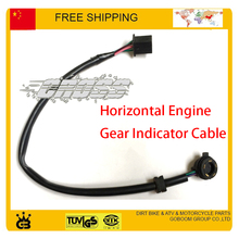 zongshen loncin lifan 50cc 110cc 125cc motorcycle gear indicator sensor cable taotao kayo dirt bike buggy atv quad accessories