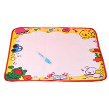 New 48*36CM Water Drawing Painting Writing Mat Board & Magic Pen Doodle toys L for children brinquedos #XT(China)