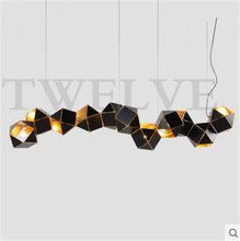 gabriel scott Contemporary lighting Modern Chandelier Welles DNA Design for Living Room Restaurant Bar Lobby free shipping