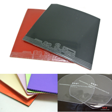 ITTF Approved  Three Sword Table Tennis rubber, ping pong rubber  / Training Rubber  Send Rubber Protection Film