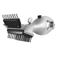 Grill Daddy Grill Brush Steam-Clean BBQ without Chemicals for All Stainless Steel Iron & Porcelain Barbecue Grates