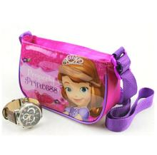 Lovely Children Girls Bags Anna Else and sofia Casual Girls Messenger Bag Princess cotton cloth Kids Shoulder Bag Famous Cartoon