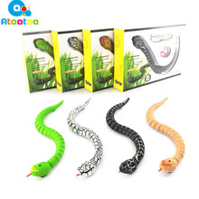 Practical Jokes Funny Gadgets Toys RC Toys Snake With Interesting Egg Radio Control Toys 4 Colors for Choice(China)