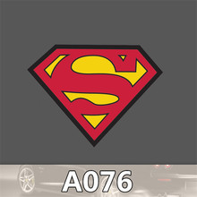 A-076 LOGO waterproof sheet Superman personality car and motorcycle trolley car stickers stickers graffiti cartoon stickers