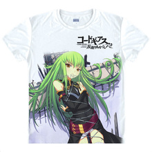 2015 Code Geass Lelouch of the Rebellion T Shirt Anime Japanese Famous Animation Novelty Summer Men's T-shirt Cosplay Clothing(China)