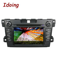 Idoing 2Din Steering Wheel Android 5.1Fit Mazda CX7 Car DVD Player GPS Navigation Audio HD Touch Screen 1080P Video WiFi OBD2 3G