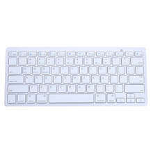Newest Ultra-thin Wireless Keyboard 78 Keys Wireless Bluetooth 3.0 Keyboard For iMac iPad Android Phone Tablet PC UK(China)