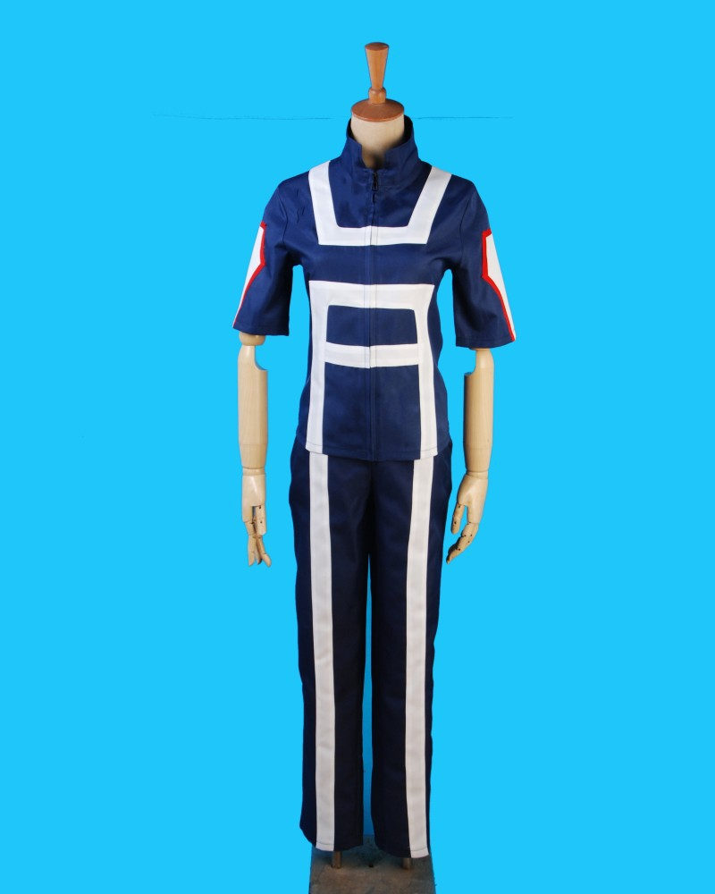 low price 2018 new Anime Boku no Hero Bakugou Katsuki/Iida Tenya/Todoroki Shouto Cosplay Costume My Hero Academia Sportswear
