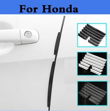Auto Door Guard Edge Corner Buffer Scratch Protector Strip For Honda Legend Life MDX NSX Partner Pilot S2000 That'S Vezel Zest(China)