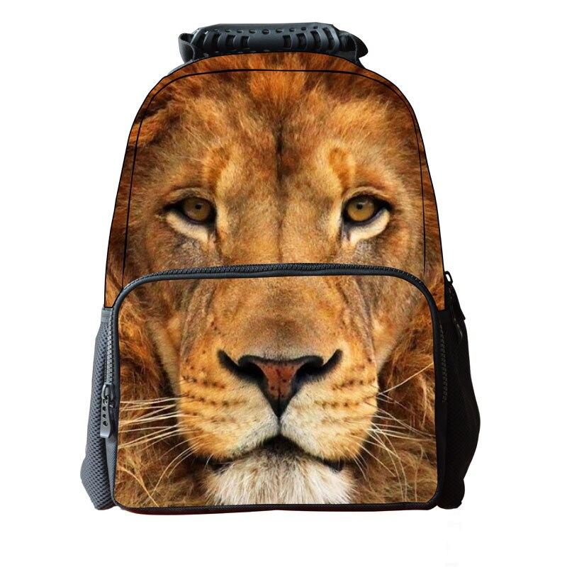 Cool Children 3D Animal Felt Backpack Mens Backpack Crazy Horse Printing Bag For School Girls College Student Bagpack Retail<br><br>Aliexpress
