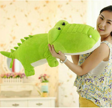 Free Shipping large Giant Crocodile Stuffed animal pillow soft plush toys for friend Creative gift