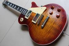 New Arrival  Les R8 MURPHY AGED KILLER REISSUE Electric Guitar Ebony/one piece neck/fretside binding  Sunburst 120725