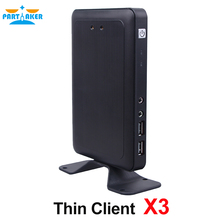 ARM-A9 Dual Core 1.5GHz Cloud Computer X3 Linux Thin Client RDP 7.0 1G RAM + 4G Flash Storage PC Station Virtual Computer(China)