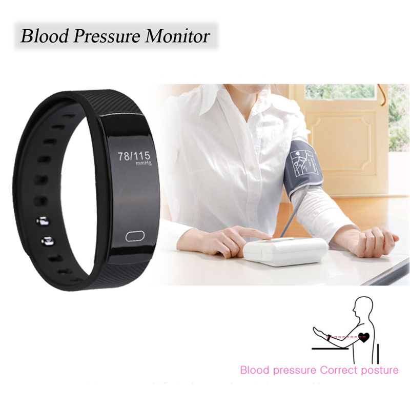 OLLLY Smart Wristband Bracelet,Fitness Tracker with Heart Rate Monitor Pedometer Activity Tracker For Android iOS Phone