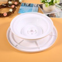 DIY Cake Swivel Plate Kitchen Cake Decorating Icing Rotating Turntable Cake Stand Plastic Fondant Baking Tool
