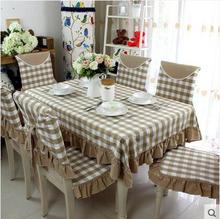 2017 PASAYIONE Vintage Plaid Table Cloth For Home Dining Kitchen Decoration Universal Tablecloths Decorative Table Cover Toalha(China)