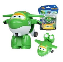 New Arrival 2015 Super Wings Mini Planes Toy Transformation Robots JETT Action Figure for Boys Birthday Gift Brinquedos(China)