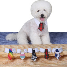 2015 Hot Sales Pet Supplies Red Color Cool Dog Tie Wedding Accessories Cats Dogs Bowtie Collar Pet Grooming 20pcs/lot(China)