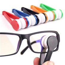 1pc/5pcs/10pcs Useful Sun glasses Eyeglass Microfiber Spectacles Cleaner microfiber cloth(China)
